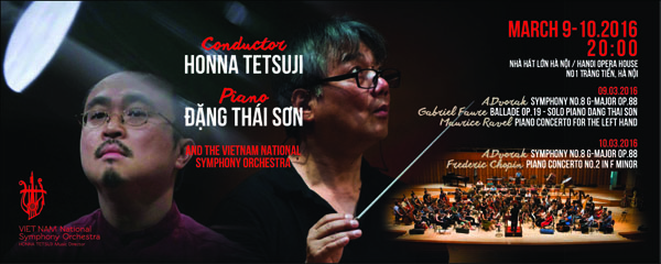 Special Concert with People's Artist Dang Thai Son (Dang Thai Son with French Music)