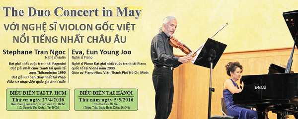 THE DUO CONCERT IN MAY