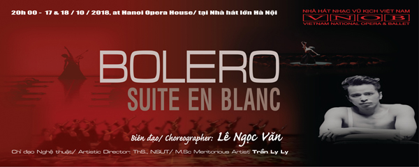 "A Night of Ballet ""Bolero & Suite en Blanc"""